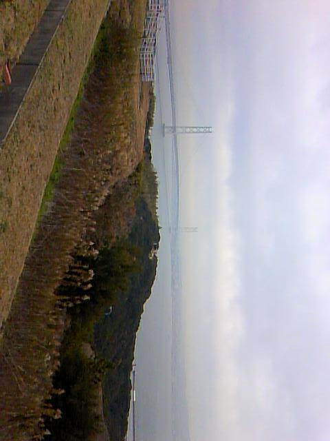 明石海峡大橋なう。
